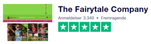 The Fairytale Company Trustpilot Score
