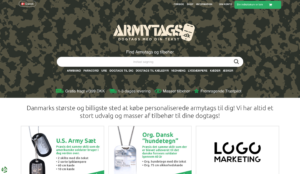 Armytags Forside