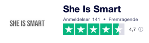 Find She is Smart På Trustpilot